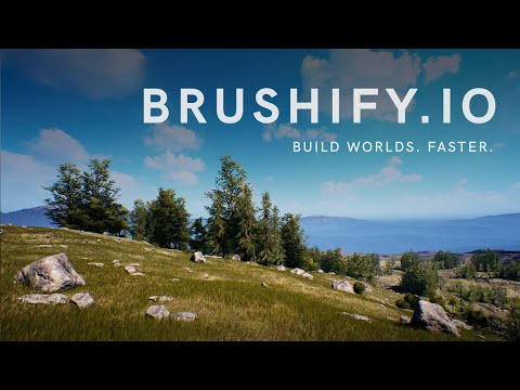 Brushify - 2019 Massive Update for Unreal Engine 4