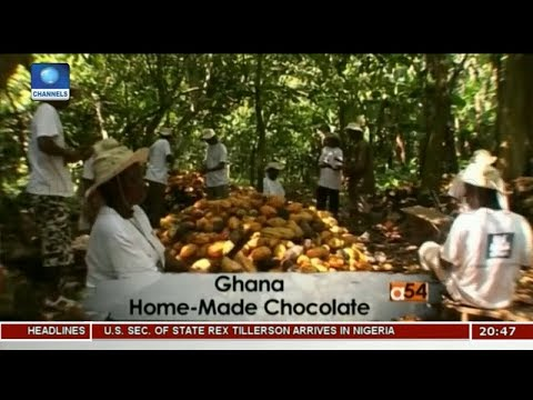 Ghana Home-Made Chocolate |Africa 54|