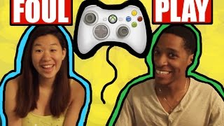 COUPLE PLAYS FOUL PLAY ARCADE VIDEO GAME PC