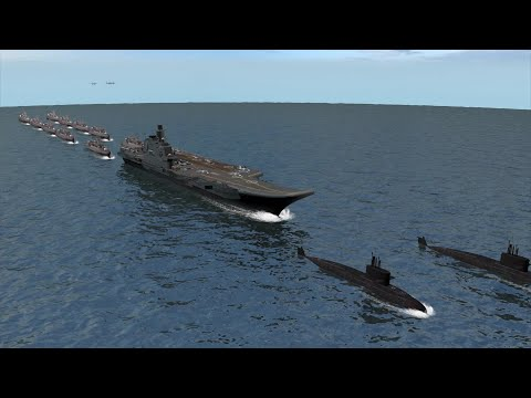 China sends massive naval fleet to South China Sea