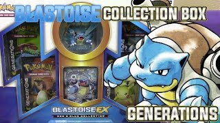 Pokemon Cards - EARLY Blastoise EX Red & Blue Collection Box Opening Battle vs JordanJapan!