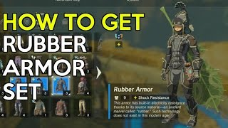 How To Get Rubber Armor Set (Trial Of Thunder Shrine Quest) - Legend Of Zelda Breath Of The Wild