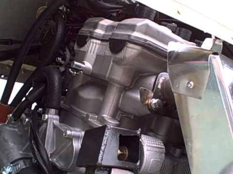 Nytro snowmobile motor in BD-5 plane
