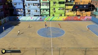 Fifa 18 the journey 3v3 fifa street gameplay