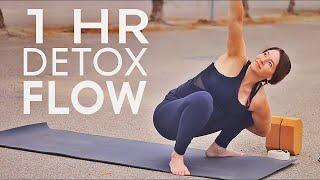1 Hr Yoga Class (Total Body) Detox Flow
