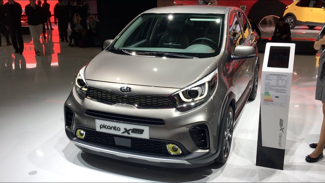the all new kia picanto x line 2018 in detail review walkaround interior exterior youtube. Black Bedroom Furniture Sets. Home Design Ideas