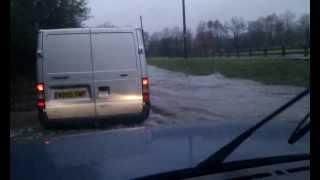 Exebridge flood