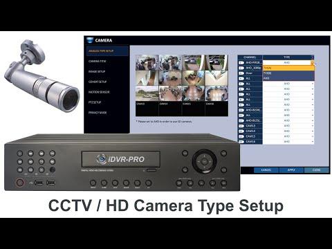 CCTV Camera / HD Security Camera Setup for iDVR-PRO Surveillance DVRs