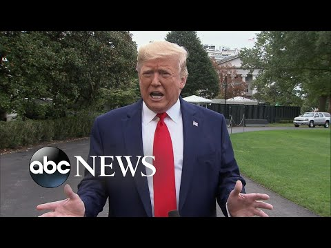 Trump suggests China should investigate Joe Biden l ABC News