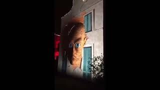 Самый крутой Дед Мороз лазерное шоу