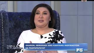 Why Sharon Cuneta decided to lose weight