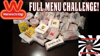 Wienerschnitzel Full Menu Eating Challenge W/ Damondevours | Freakeating Challenge Wars