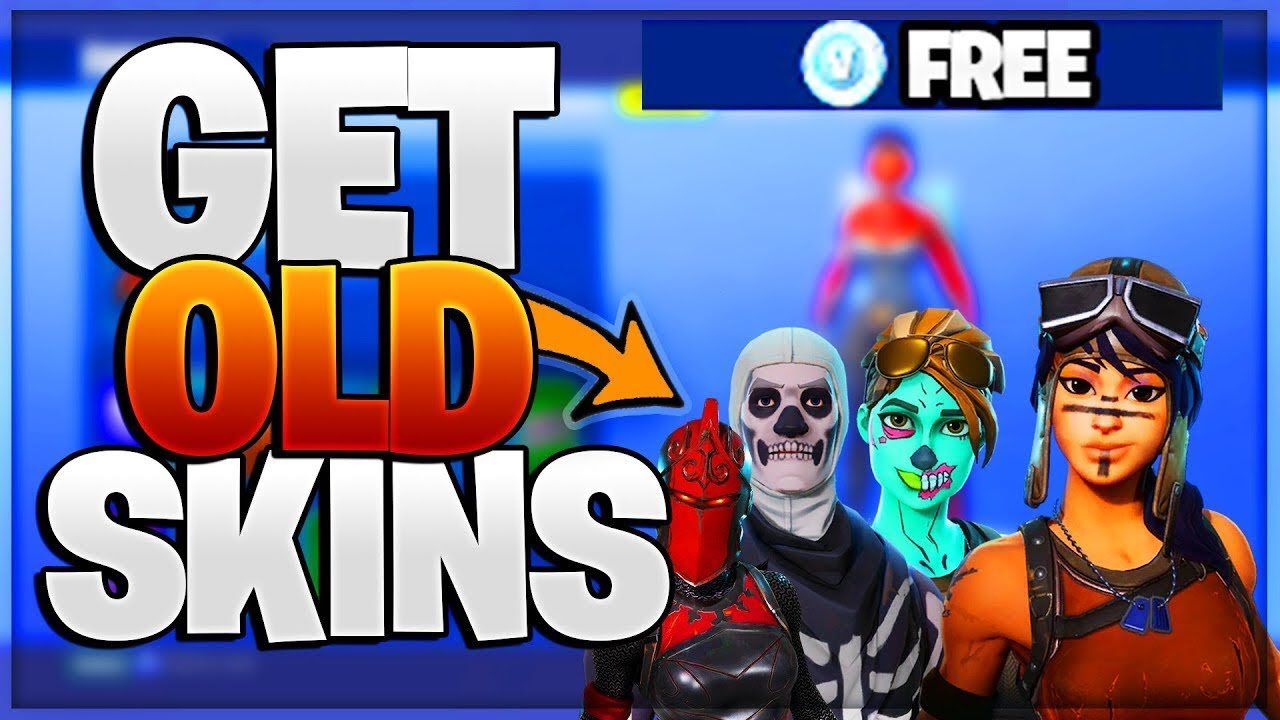 How To Obtain Skull Trooper Renegade Raider Ghoul Trooper In