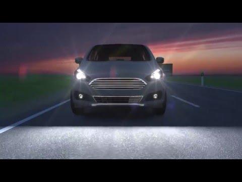 Ford führt neue Scheinwerfer-Technologie mit blendfreiem Fernlicht ein