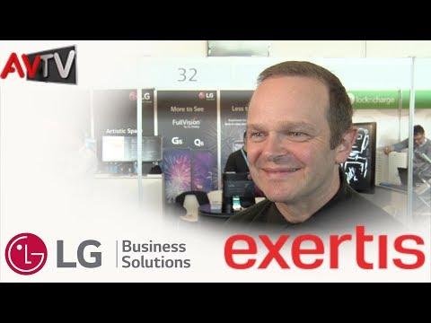 LG brings display innovation to retail and B2B
