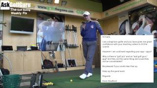 The Golf Swing Weekly Fix 14th November