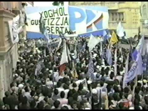 Mass Meeting – Żabbar – 29th March 1987