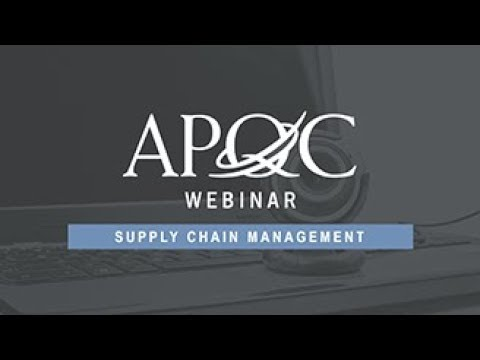 Understanding Millennials in Supply Chain- An APQC Webinar