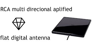 RCA Multi-Directional Amplified Flat Digital Antenna | Full Review