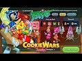 COOKIE WARS Elemental Fire Dungeon mission!