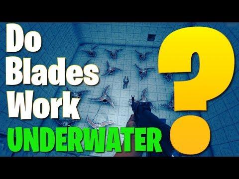 Do Electric Blades Work Underwater? - 7 Days Strange Projects