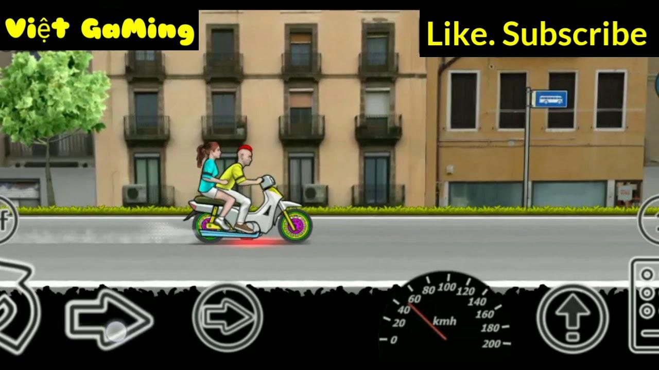 Trải nghiệm game [ Wheelie Challenge ] Game Bốc Đầu .Lai Ny đi bốc đầu cực hay . (Việt Gaming).