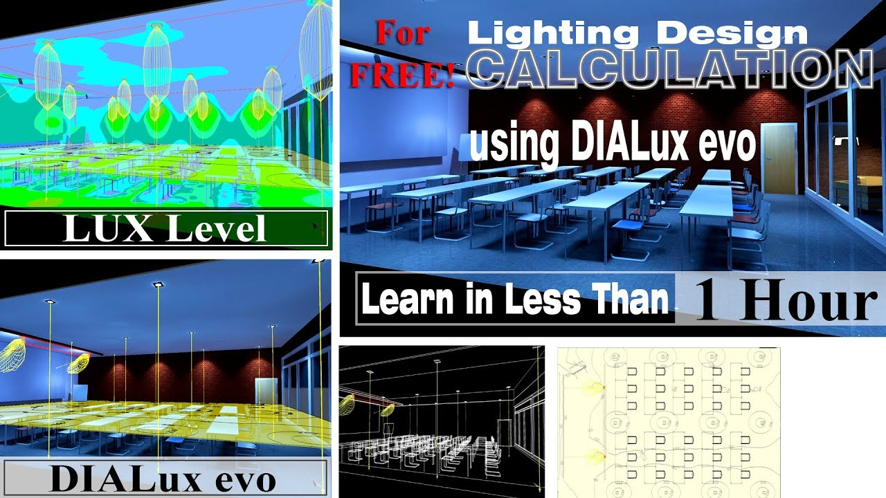 dialux lighting strategies 01 free software creates 3d model rendering and calculations