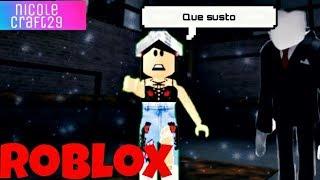 Roblox-que sustoooo :0 (Smettila, Slender)