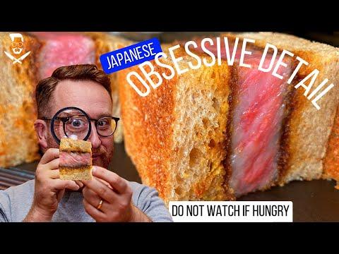 Secret off menu WAGYU KATSU SANDO Japanese Master Chef Masaki Sugisaki London | John Quilter