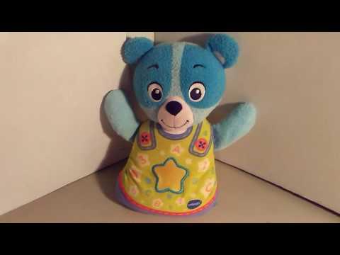 V Tech Soothing Slumbers Bedtime Bear SINGS TALKS & LIGHTS UP