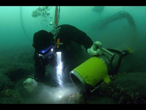 Underwater Dredging - DIVER'S WORLD - Antzoulis