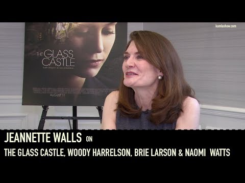 Jeannette Walls on The Glass Castle, Woody Harrelson, Naomi Watts & Brie Larson