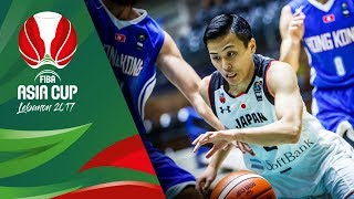 Japan v Hong Kong - Highlights - FIBA Asia Cup 2017