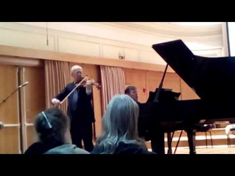 Bruno Giuranna (Viola)- Aleksandar Serdar (Piano)