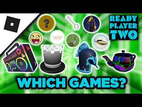 WHAT GAMES ARE IN READY PLAYER TWO EVENT (Roblox Ready Player Two)