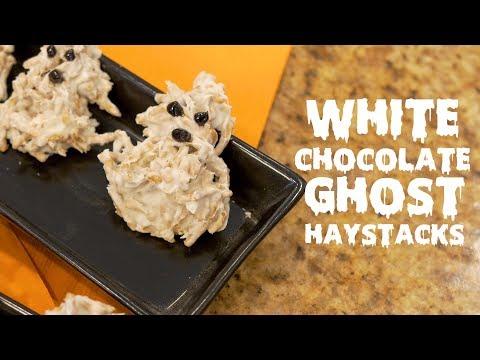 White Chocolate Ghost Haystacks
