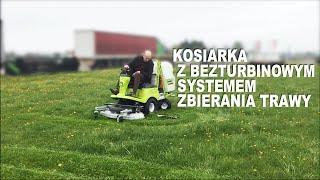Kosiarka z bezturbinowym systemem zbierania trawy i wysokim wyładunkiem - Grillo FD 450