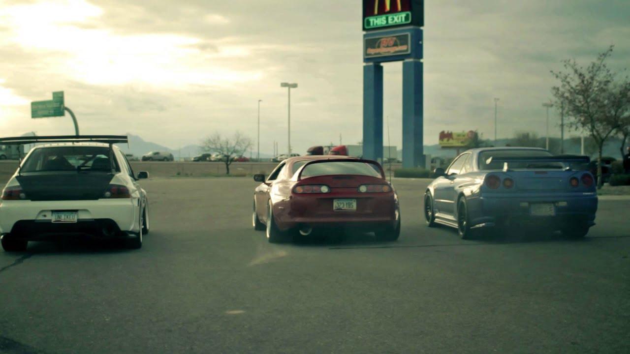 Toyota Of The Desert >> Mitsubishi Evo + Toyota Supra + Nissan Skyline 2 Step Anti-lag - YouTube