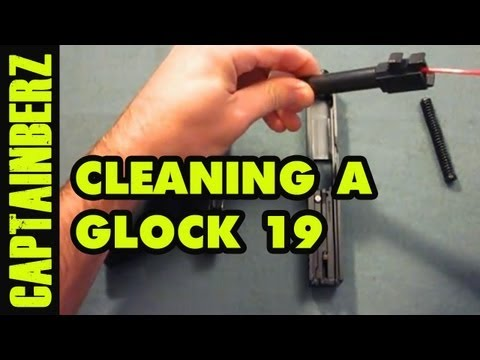 Cleaning The Glock 19 9mm