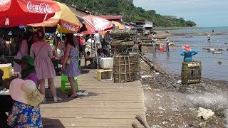 Crab Market In Kep City, Cambodia-Travel Guide