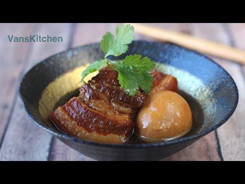 Thịt kho tàu (Vietnamese caramelized braised pork and eggs)