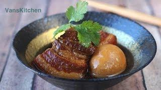 thịt kho tàu vietnamese caramelized braised pork and eggs