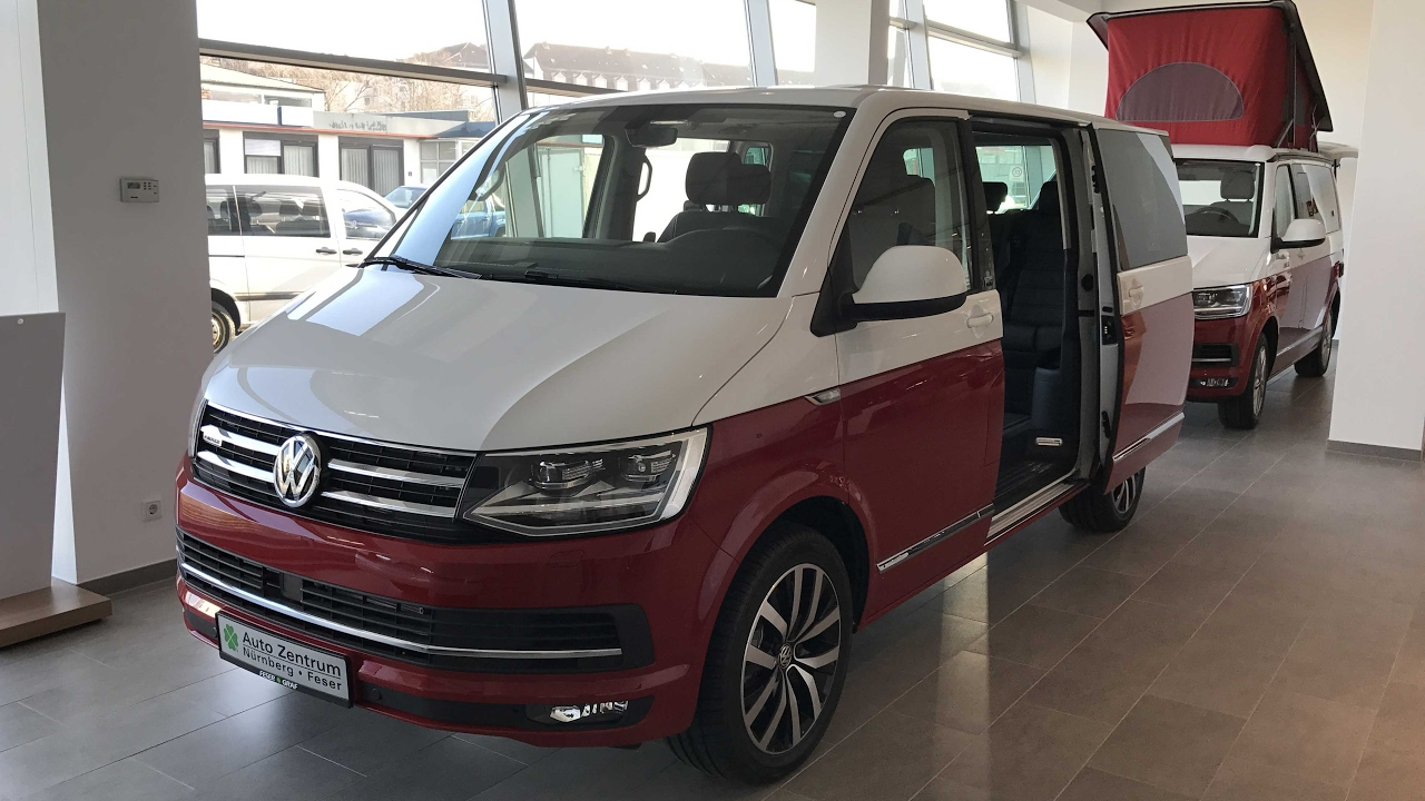 vw t6 multivan camper new model 2017 generation six