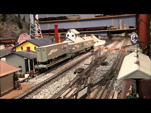 O-scale trains
