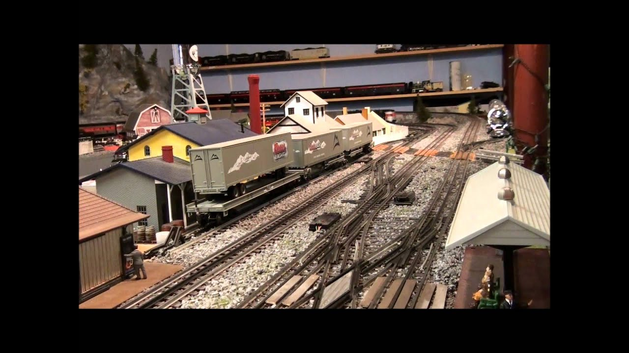 O gauge railroading