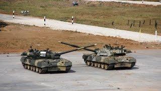 Открытие чемпионата мира по танковому биатлону – 2014