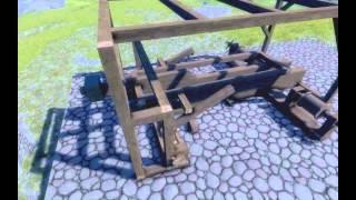 Medieval Engineers Battering Ram