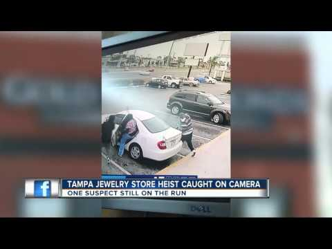 Tampa jewelry heist caught on camera
