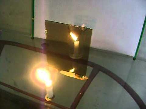 Reflexi n de la luz en espejos planos y semitransparentes - Espejos para rebotar el mal ...
