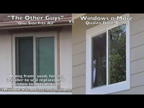 Windows Replacement Comparisons